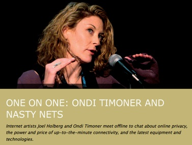 Ondi Timoner and Nastynets