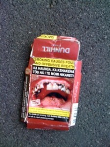 Hey Kiwis, your cigarette packaging may be disgusting...